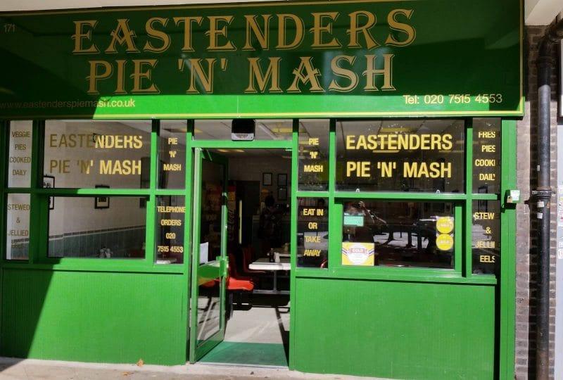 Eastenders Pie 'n' Mash