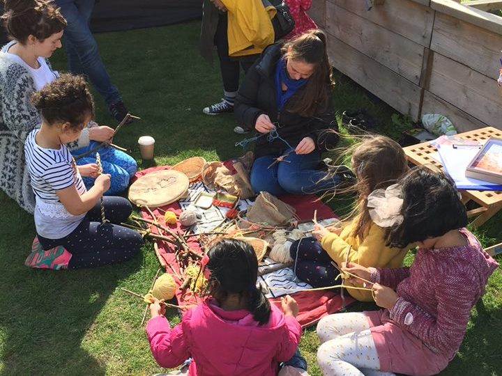 Parent and Child Natural Crafts Forest School