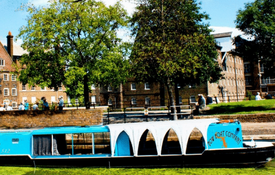 River Lea Boat Cruise & Gallery Tour