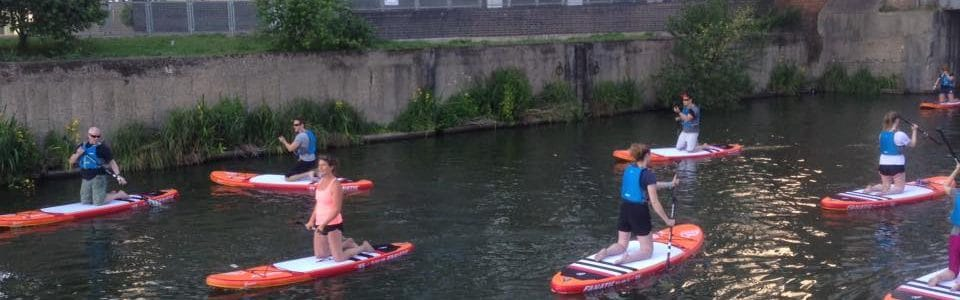 Paddling Boarding: A (Limehouse) Cut above the rest