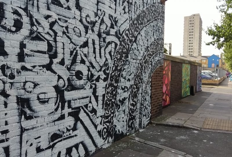 Animals to Abstract: Street Art in Poplar